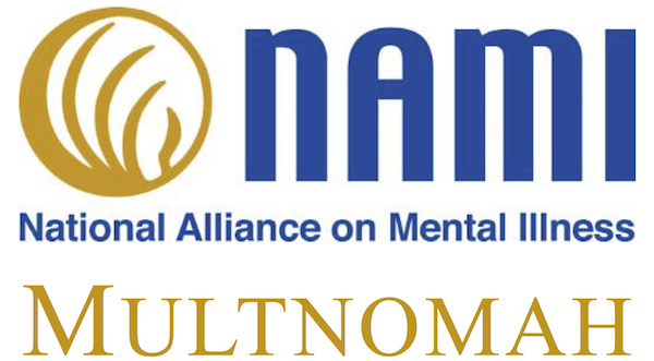 Graphic of NAMI Multnomah logo