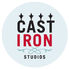 Graphic of Cast Iron Studios logo