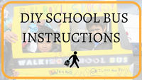 Make your own Walking School Bus sign!