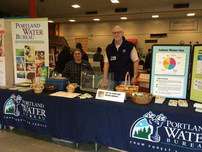 Fix-It Fair Water Bureau table