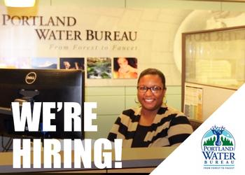 Water Bureau Hiring Customer Service Specialists