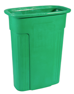 Green slim container
