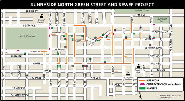 Sunnyside North project map