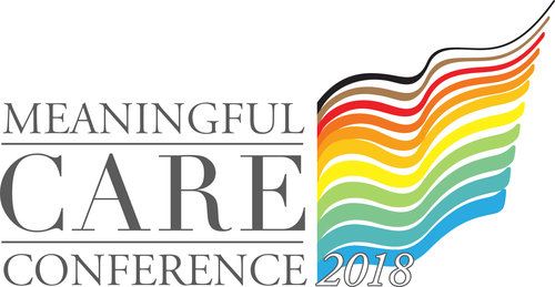 Logo for 2018 Meaningful Care Conference.