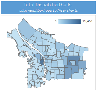 Dashboard Walkthrough | Dispatched Calls | The City of