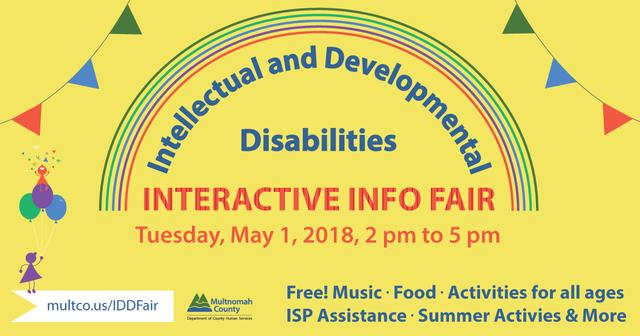 Information graphic for MULTCO IDD Fair