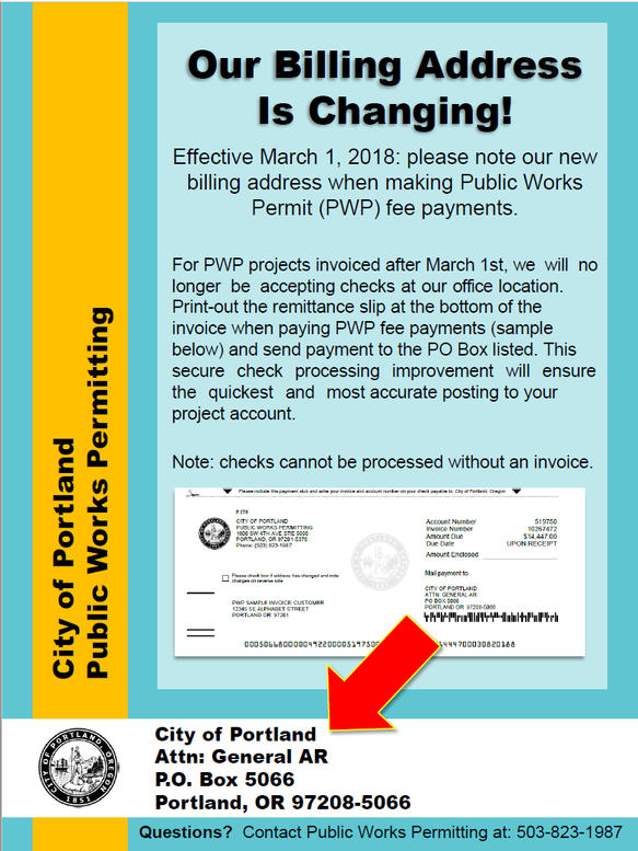March 2018 - PWP Moves to 3rd Party Check Processing