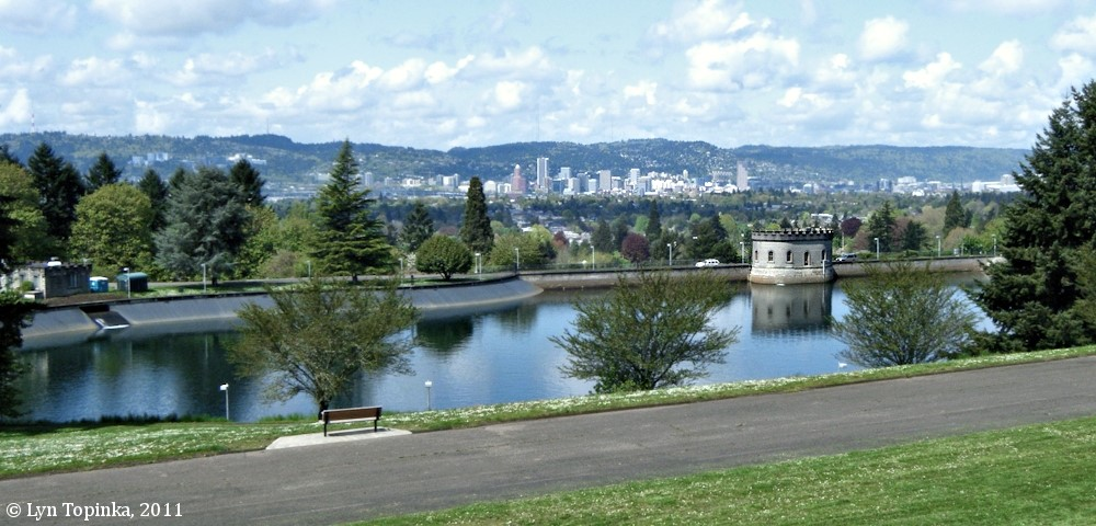 Mt. Tabor Reservoir Interpretive Displays