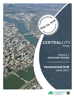 Central City 2035 Plan Cover