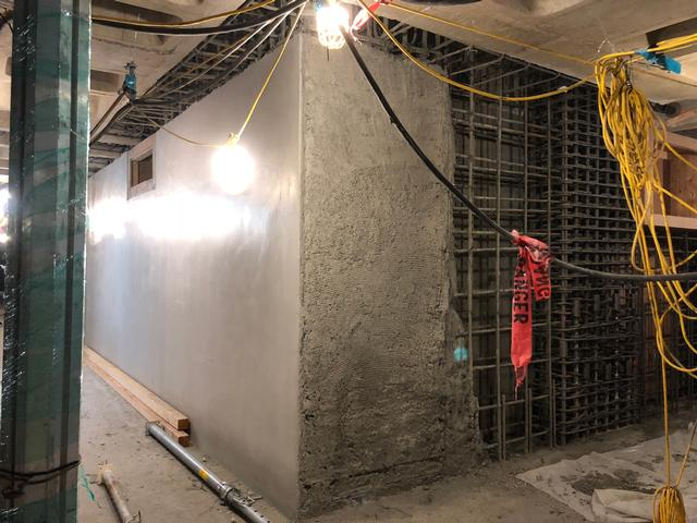 basement shotcrete