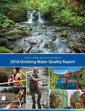 2018 Drinking Water Quality Report cover