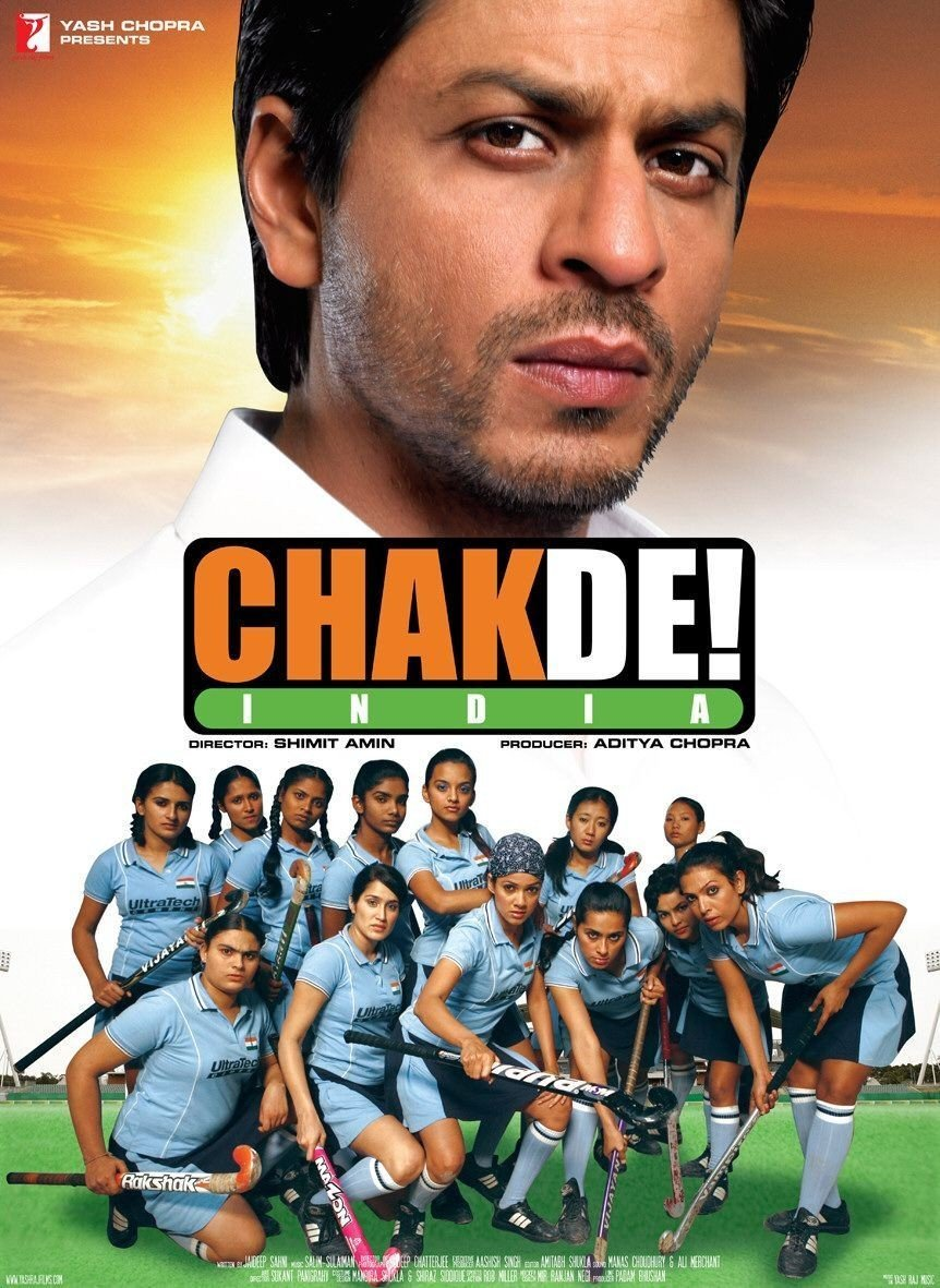 Movie poster for Chak de! India