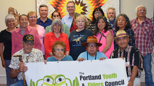 Nick Meeting with the Native American Portland Youth And Elders Council