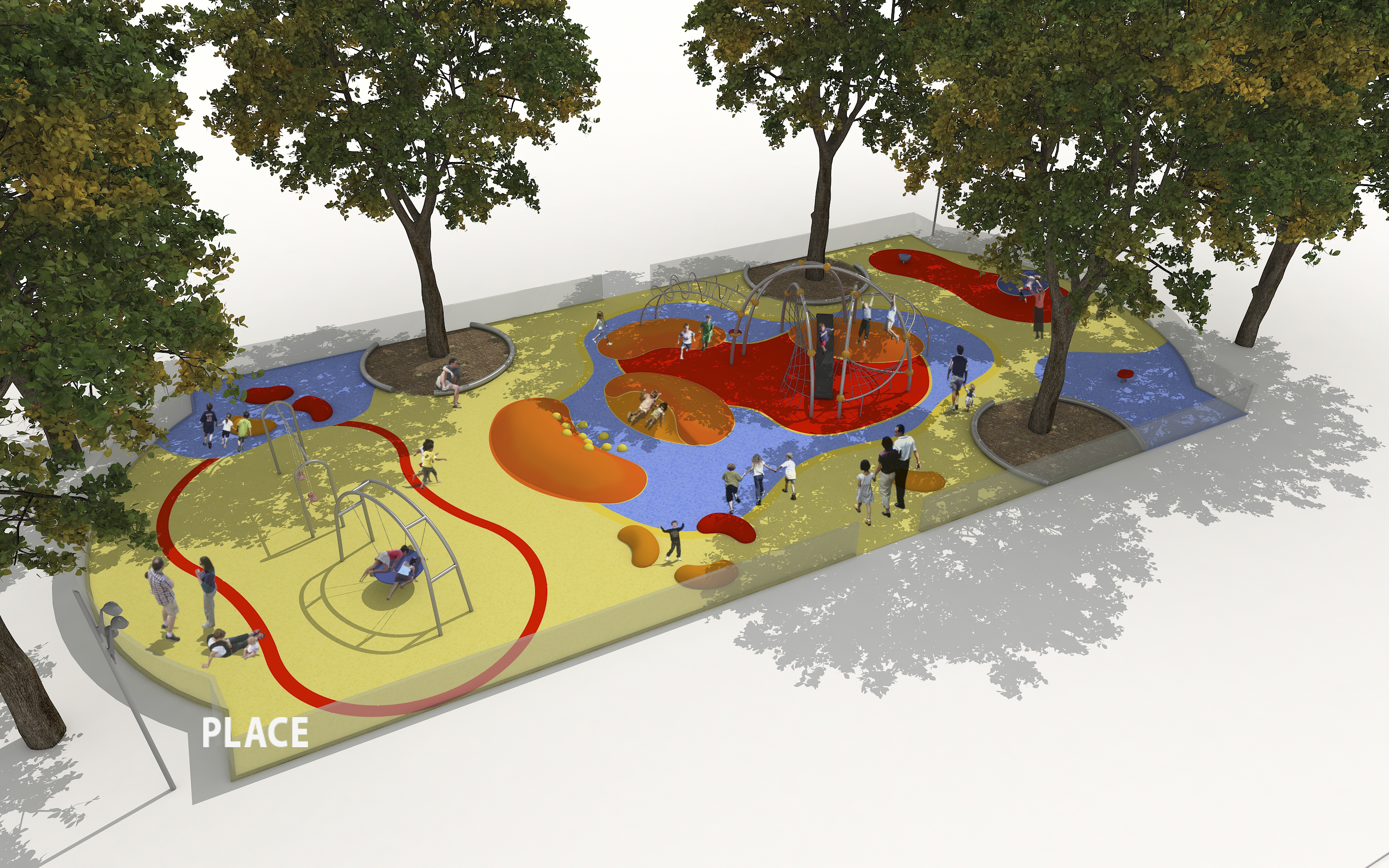New playground rendering