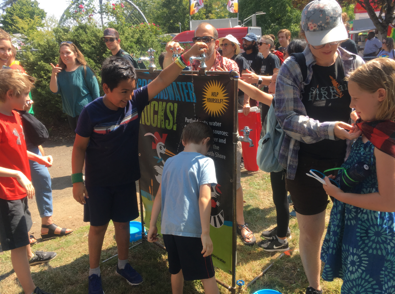 Water Bureau attends the 2018 Outer Northeast Sunday Parkways