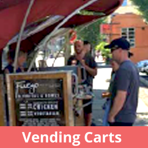 Vending Carts permitting