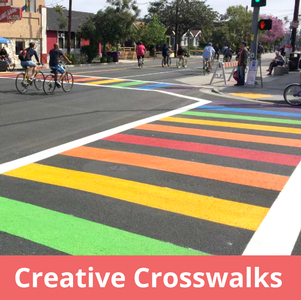 Creative Crosswalks permitting