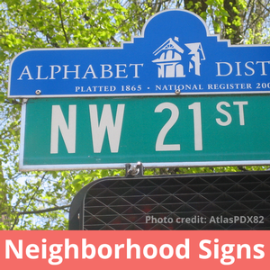 Neighborhood Signs