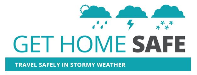 Get Home Safe logo for Stormy Weather