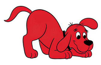 Clifford the Big Red Dog ready to sniff out the truth on Service and Support Animals. Image courtesy of Tumblr.com