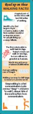 Walking Facts Bookmark