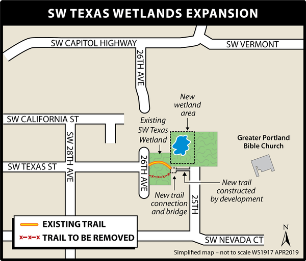 Texas Wetland Expansion Map