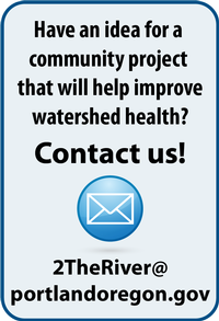 Graphic: Have an idea for a community project that will help improve watershed health? Contact us.