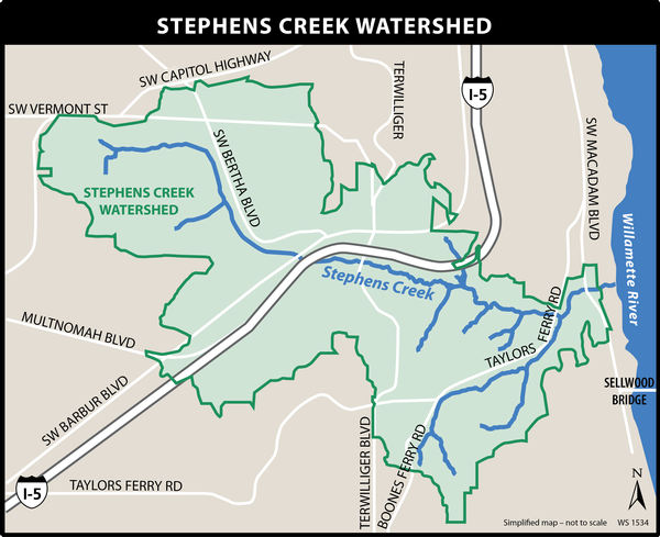 Stephens Creek Map