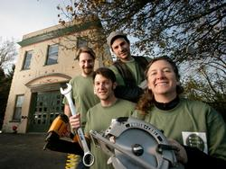 North Portland Tool Library volunteers
