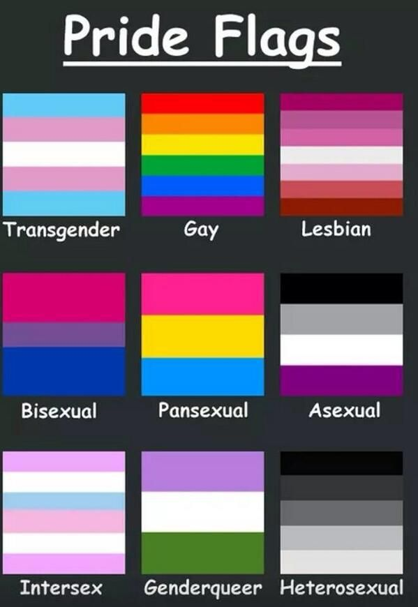 image with pride flags