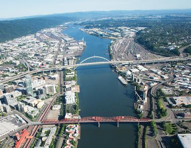 Portland Harbor Superfund Site, Image Courtesy Port of Portland