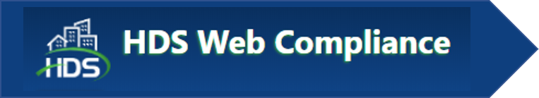 Screenshot of HDS Web Compliance logo