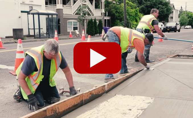 Click here for video and audio about sidewalks