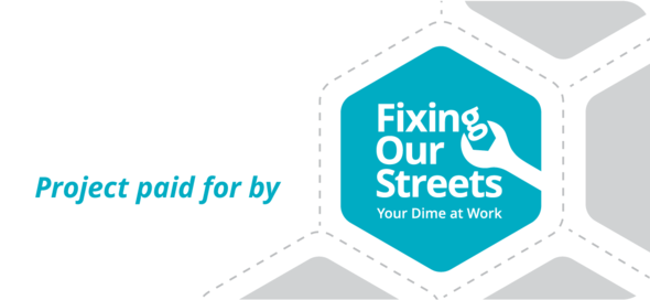 Fixing Our Streets logo and web link to more info