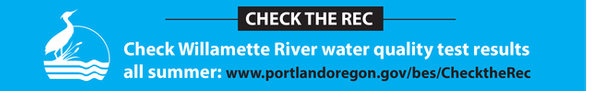 Banner - check river testing results all summer