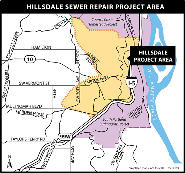 Neighboring SW Sewer Repair Projects