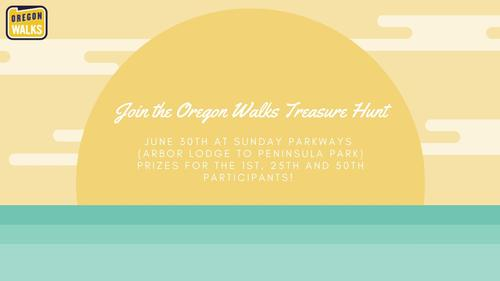 Join the Oregon Walks Treasure Hunt