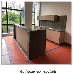 Gathering Room Cabinets