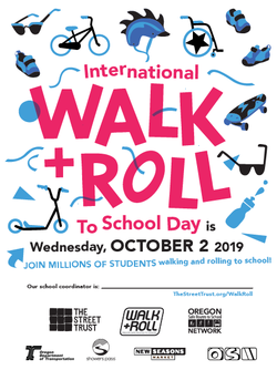 Walk and Roll to School Day Poster