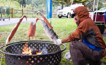 Photo: salmon bake