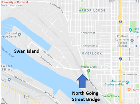 Map of Going St Bridge