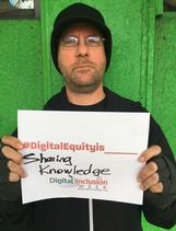 digital equity is sharing knowledge