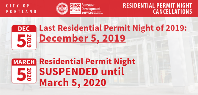 Residential Permit Night Temporary Suspension.