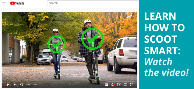 Learn how to Scoot Smart: Watch the Video