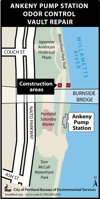 Ankeny Pump Station Project Map