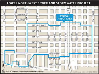 Lower Northwest Project Map