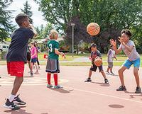 Basketball clinic, Kenton Park