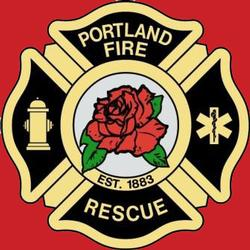 picture of portland fire and rescue logo