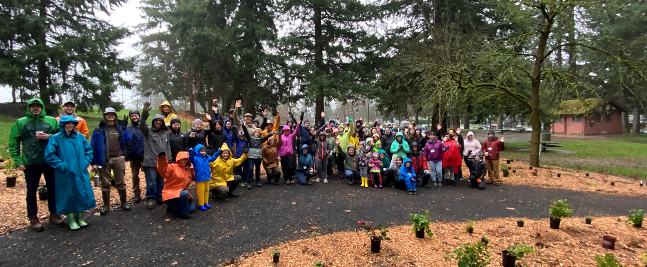 Lents Neighbors Plant the Patch