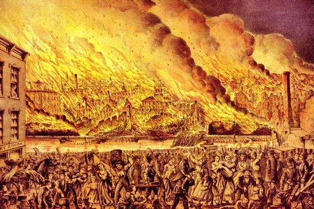 Great Chicago Fire of 1871